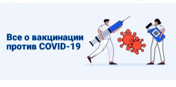 Памятка пациента о проведении вакцинации против COVID-19 вакциной «Гам-Ковид-Вак»
